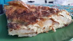 Spanish Omlette - Tortilla Slice