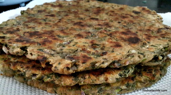 How to make Koki – Indian wholewheat flatbread