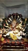 ISKCON Temple Delhi - Lord Narasimha killing Hiranyakashipu