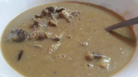 Safed Mutton - Mutton in white cream sauce