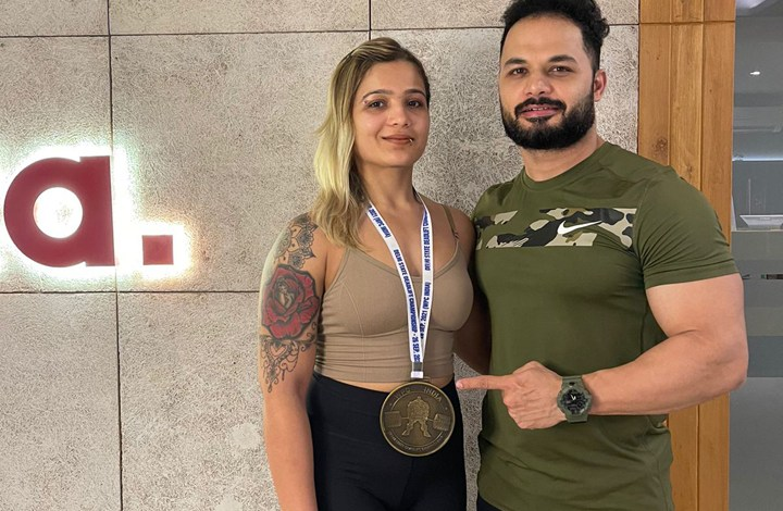 Roma Shah brings glory to Surat in powerlifting