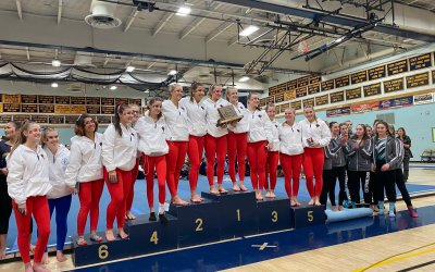 CVU winter teams head into playoff season, Gymnasts vault into playoffs with first CVU D-I season title