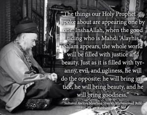 Scheich Muhammad über Mahdi (as)