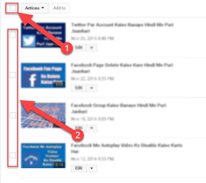 Youtube Se Video Delete