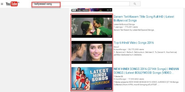 youtube se MP3 song download