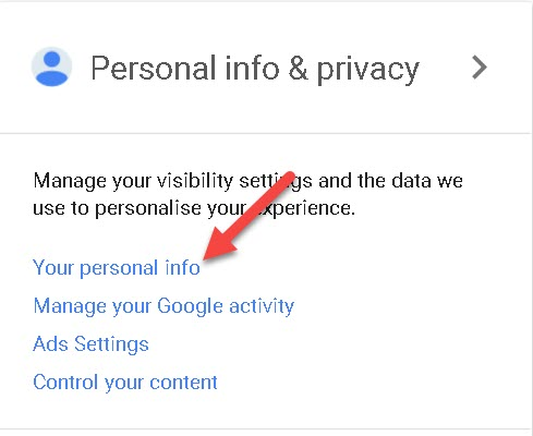 Gmail User Id Change