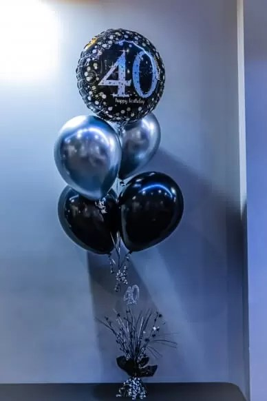 Forget me not Balloon Bouquet