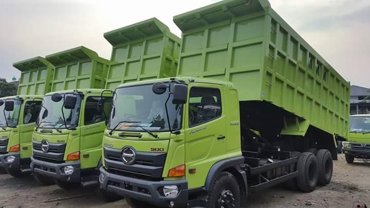 Mobil-Dump-Truck-Hino