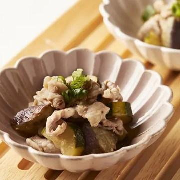 豚肉と夏野菜の味噌蒸し