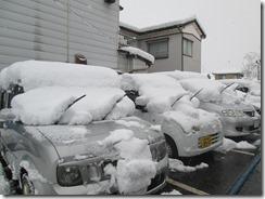 12月6日駐車場