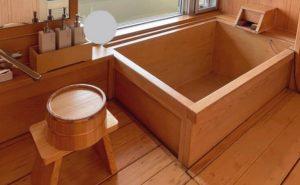 ホテル亀や様檜風呂
