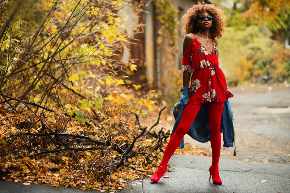Colors That Affect Mood: Ruby Red Outfit