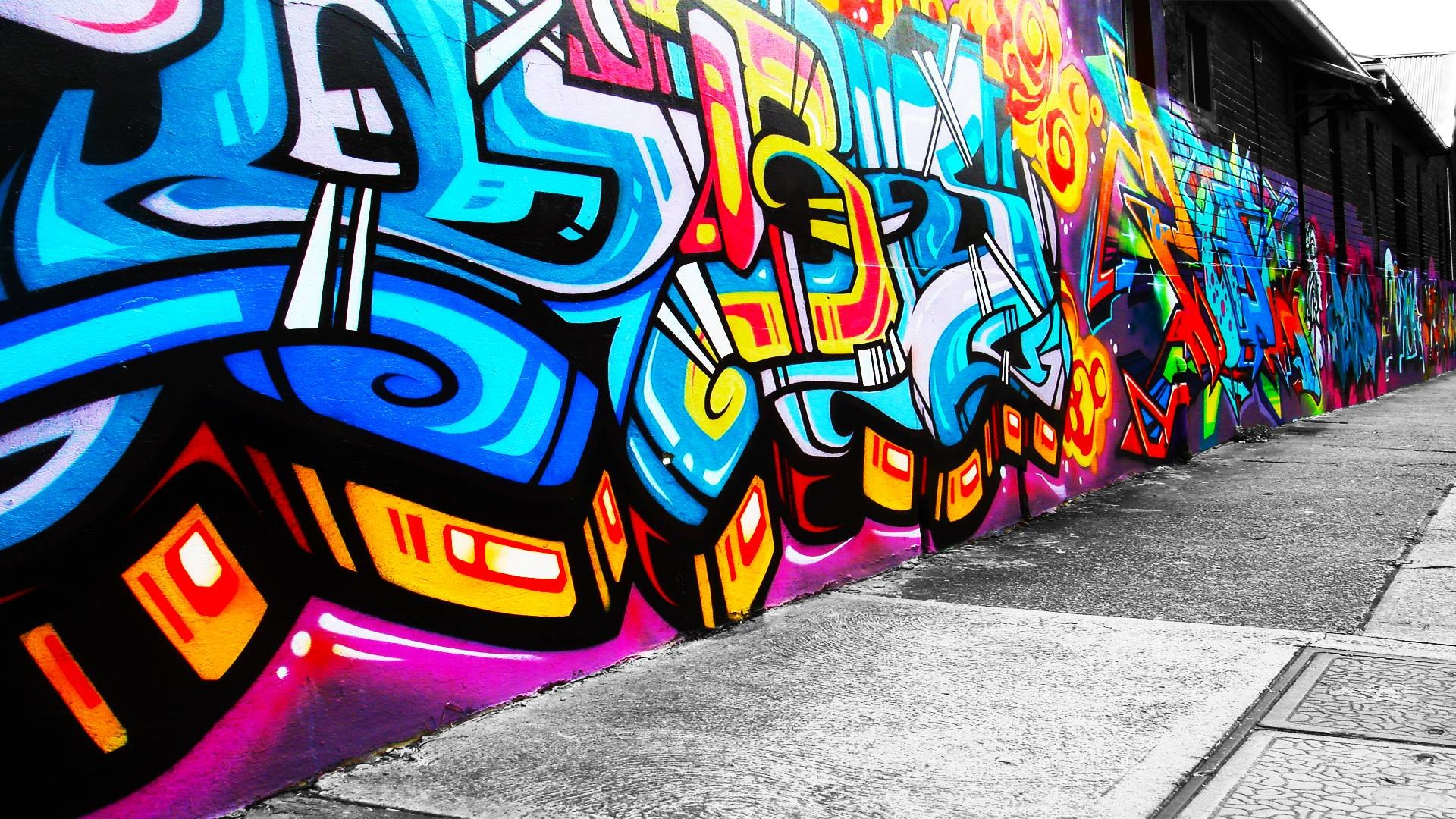 die 63+ besten coole graffiti hintergrundbilder