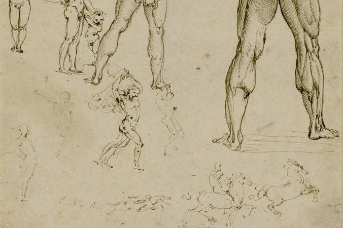 davinci-figural-sketches