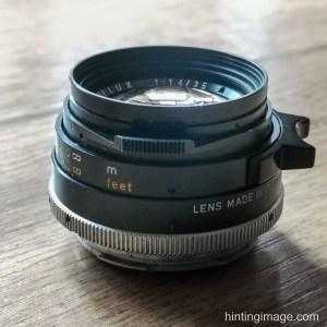 Leitz 35mm Summilux