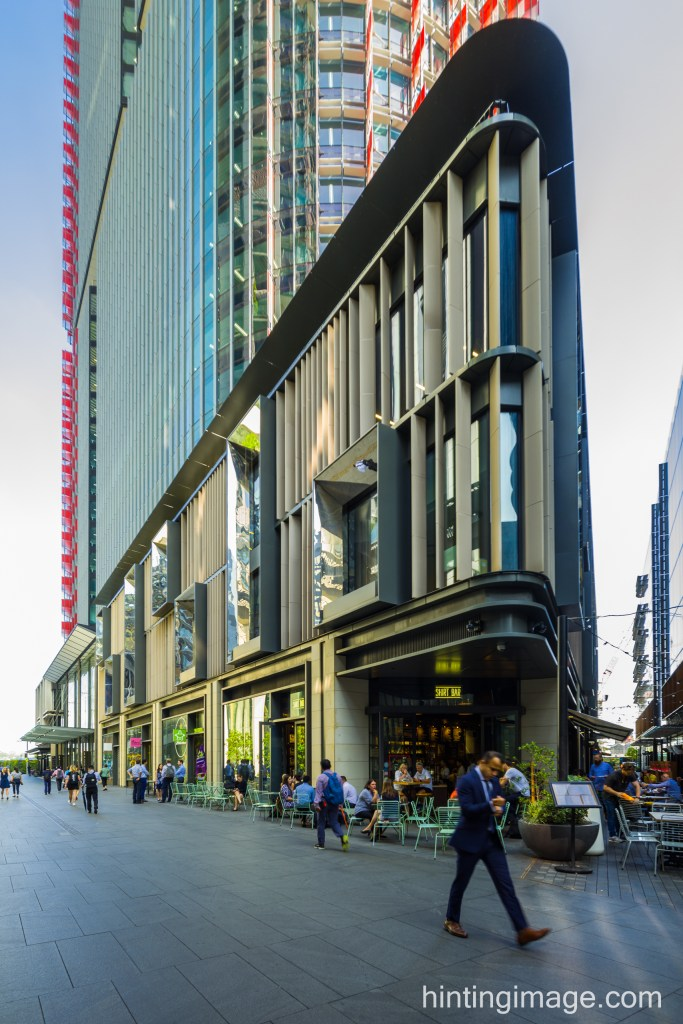 Barangaroo International Towers Podium
