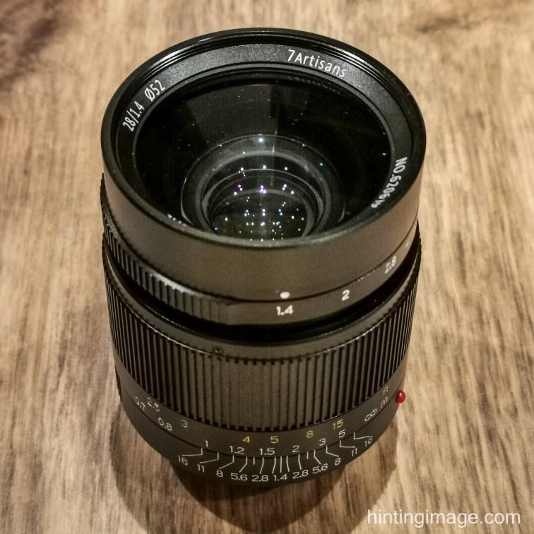 7 Artisans 28/1.4 lens