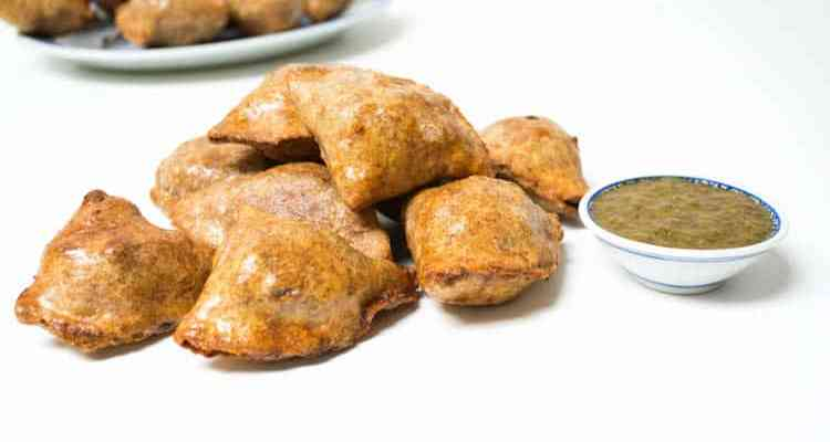 Baked Wholegrain Samosas