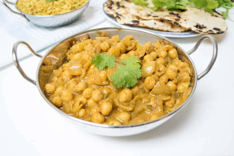 Fragrant Chickpea Curry