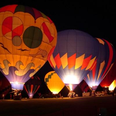 Hinton's 2018 Halloween Party & Hot Air Balloon Glow