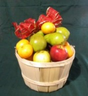 Fruit Basket at Hintons Orchard and Family Market Farm produce