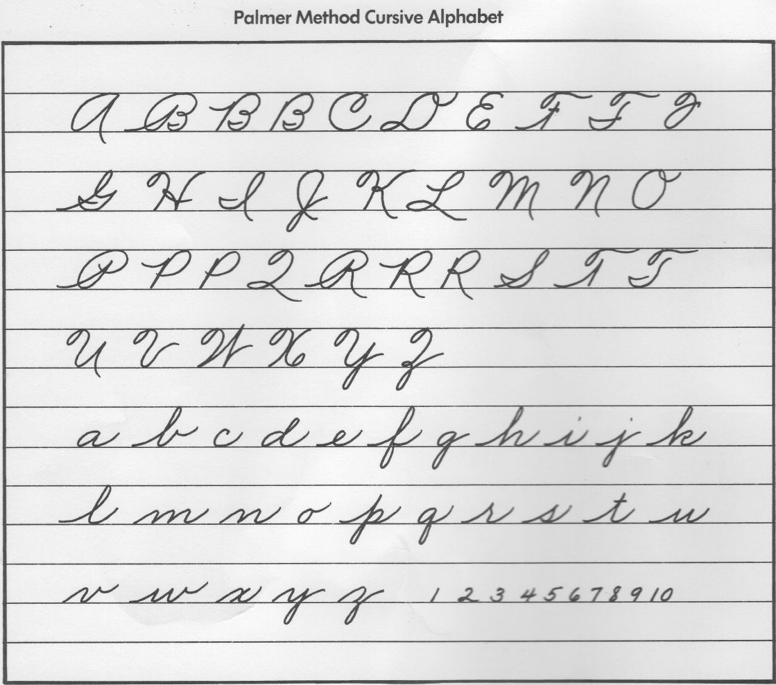 Cursive Handwriting Should We Care If It Disappears