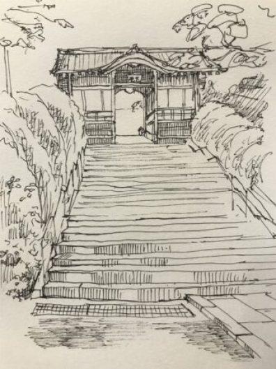 護国寺 不老門