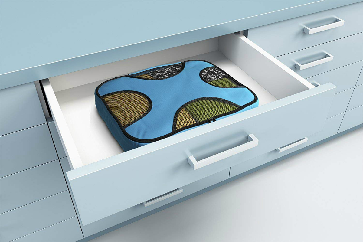 Packing Cubes in a drawer