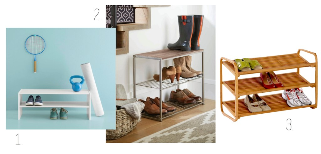 target wire wood shelves organization shoes
