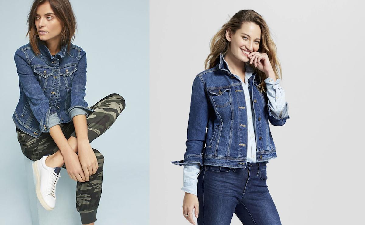 anthropologie walmart jean jackets