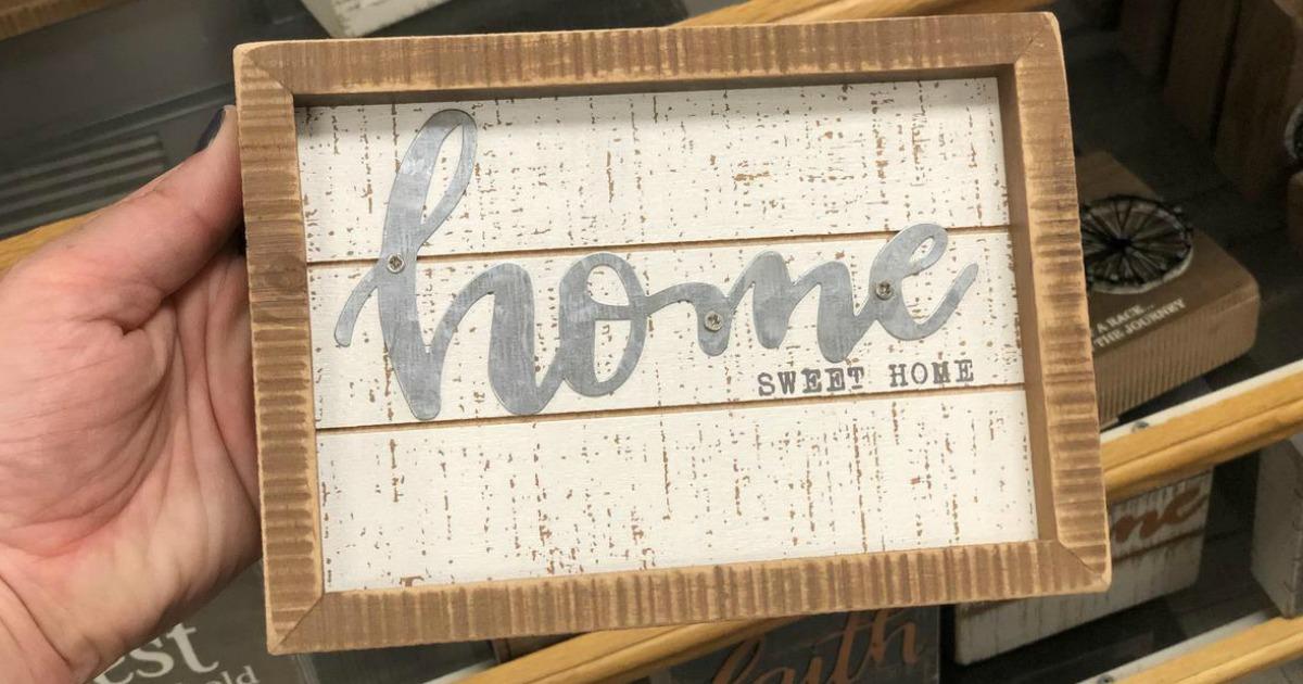 kohls home sign