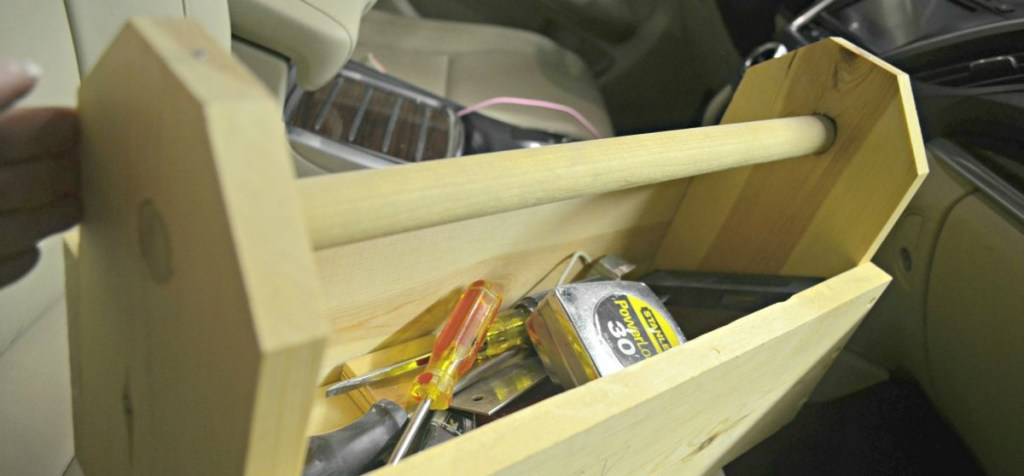 keep a toolbox handy during moving