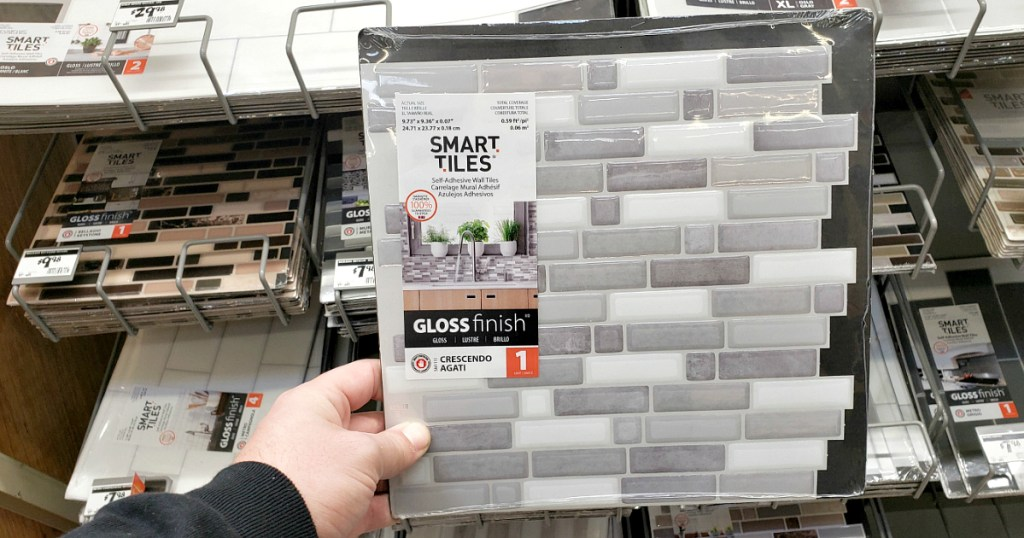 off self adhesive backsplash wall tiles
