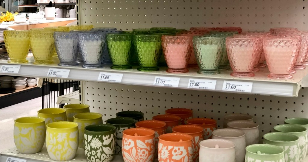 Opalhouse candles at Target