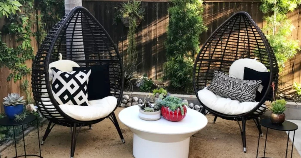 rattan egg chairs for the lowest prices