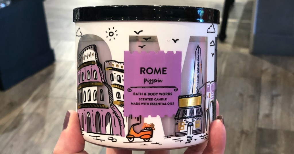 Bath & Body Works Rome Pizzeria candle