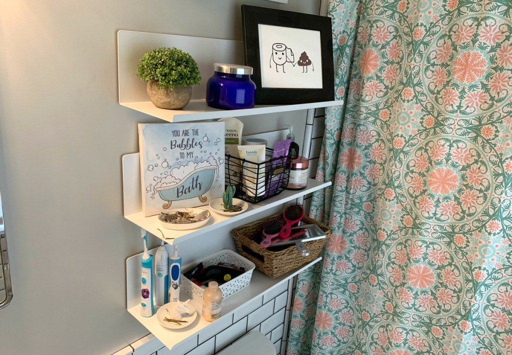 Project 62 Bent Metal Wall Shelves from Target