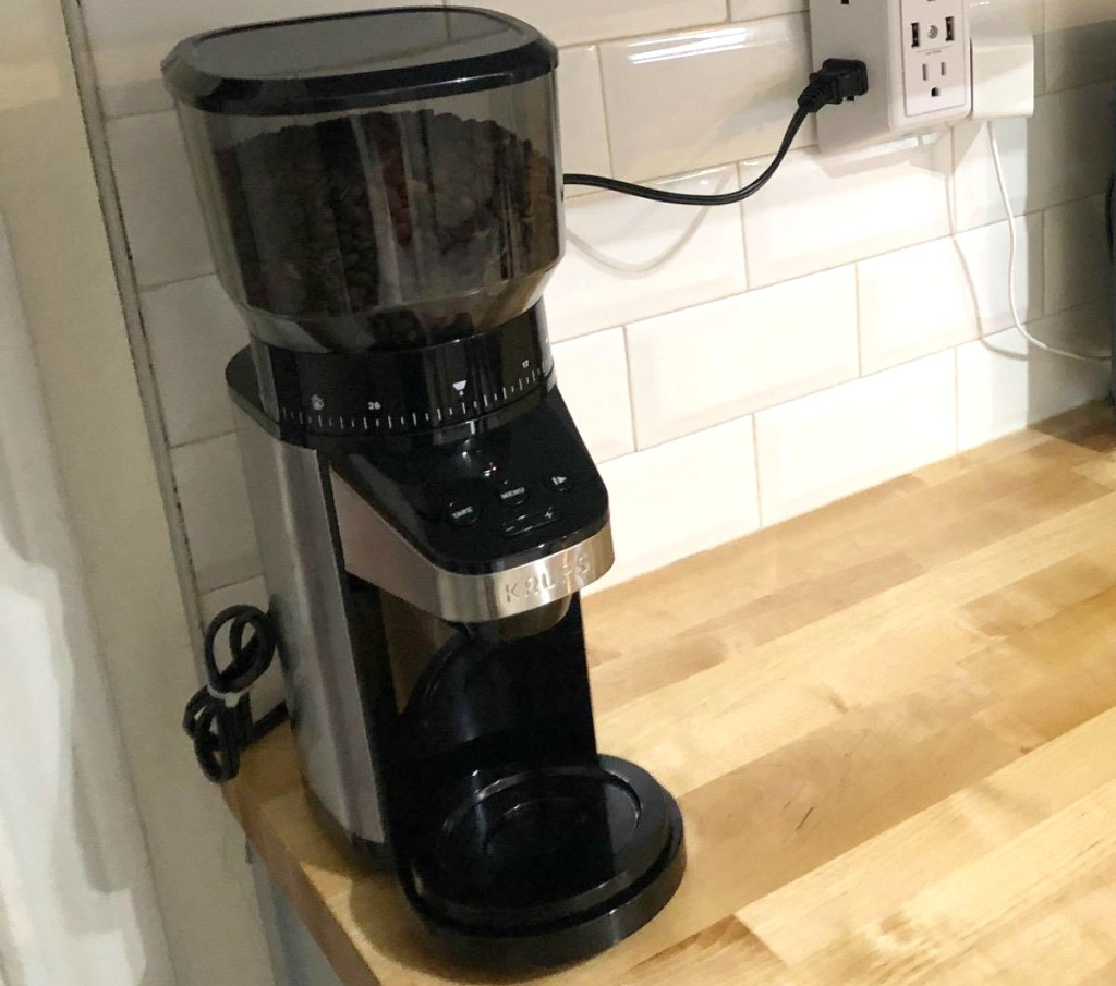 KRUPS Coffee Grinder with Scale