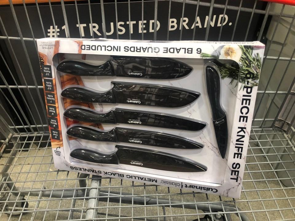 keto costco deals September 2018 – Cuisinart Knife Set at Costco