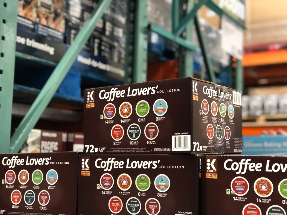 October 2018 keto Costco deals – Coffee Lovers' K-Cups at Costco
