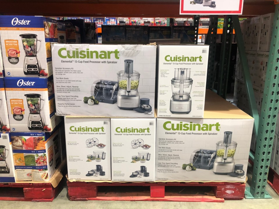 October 2018 keto Costco deals – Cuisinart Food Processor at Costco