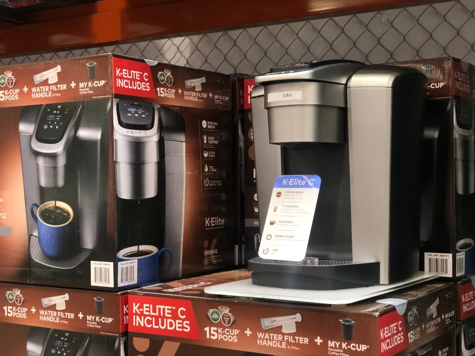 October 2018 keto Costco deals – Keurig at Costco