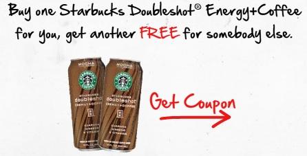 new buy 1 get 1 free starbucks doubleshot energy coffee drink