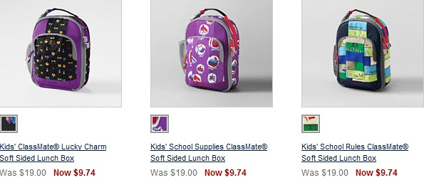 Lands' End: FREE Shipping (No Minimum!) = Great Deals on Lunch Boxes