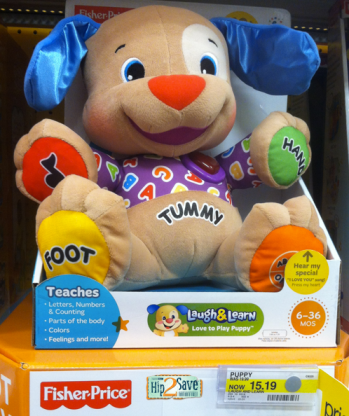 Target Fisher Price Laugh Learn Love To Play Puppy Only 1019