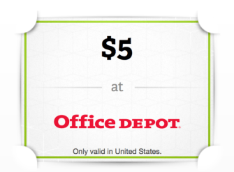 One handy difference between money and gift cards, though: Wrapp App Free 5 Office Depot Gift Card Hip2save