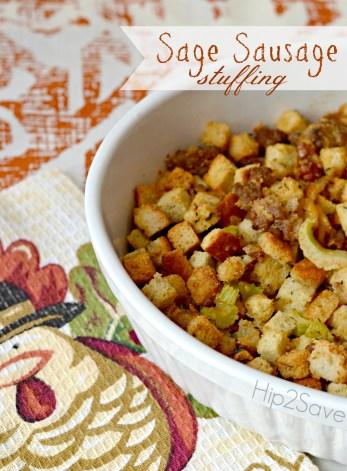 Easy Sage Sausage Thanksgiving Stuffing Recipe Hip2save
