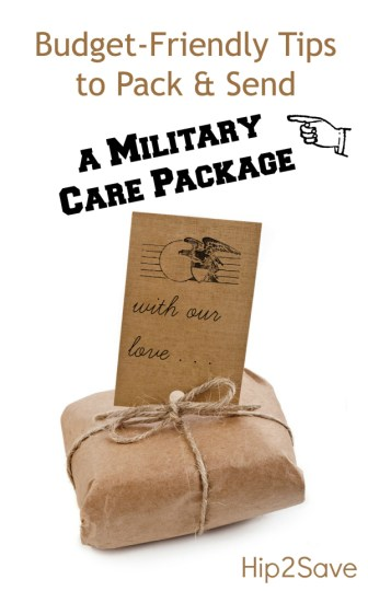 Military Care Package Hip2Save