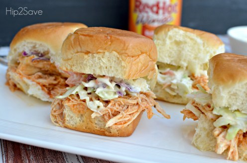Buffalo Chicken Sliders Hip2Save