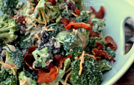 Best Broccoli Salad Hip2Save